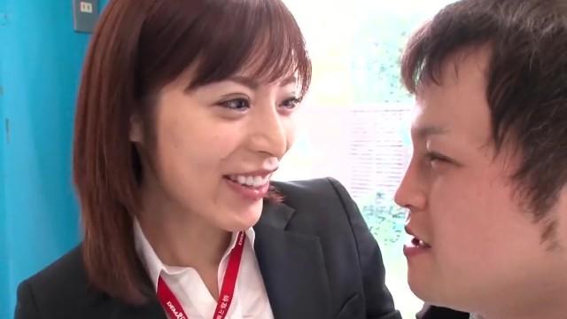 SOD社員扮する桜井彩がMM号でご奉仕